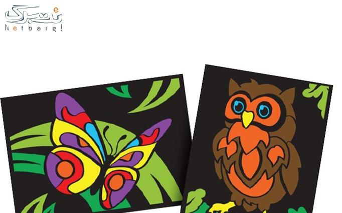 ماژیک رن آرت Paintastics Velvet Posters 2