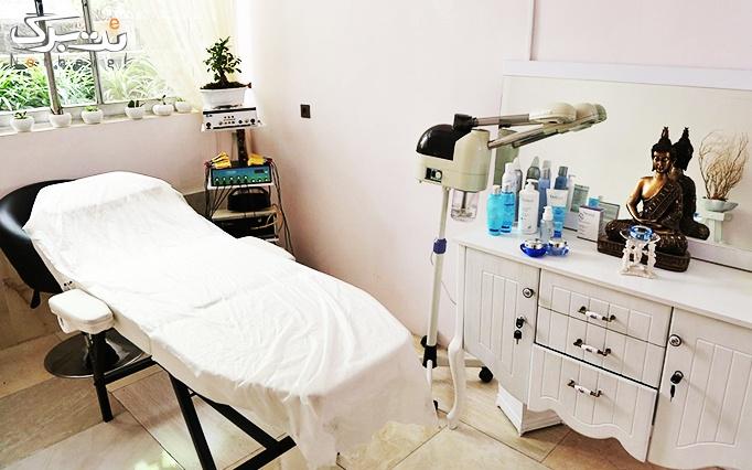 پاکسازی پوست در آرایشگاه گندمگون
