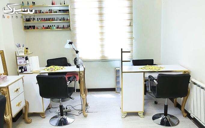 آموزش چگونگی کار با حنا در آرایشگاه مهنوش معینی