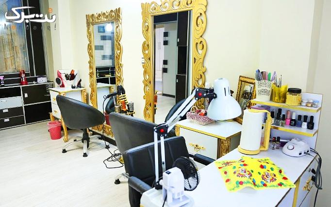آموزش کاشت ناخن در آرایشگاه مهنوش معینی