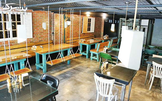 رستوران هارلم با ساندویچ ، پاستا و انواع پیتزا