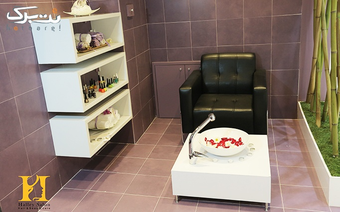 کاشت ناخن در آرایشگاه هالی