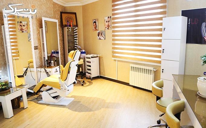 ژلیش ناخن در آرایشگاه گلاریس