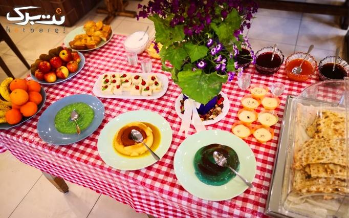 بوفه صبحانه در رستوران بین المللی میچکا