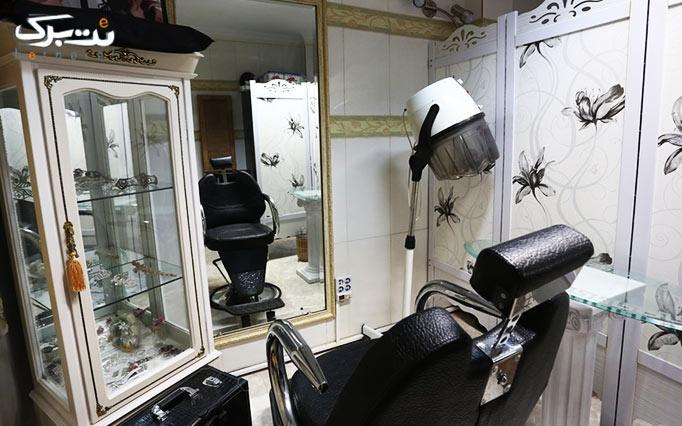 اکستنشن مو در آرایشگاه شمیم