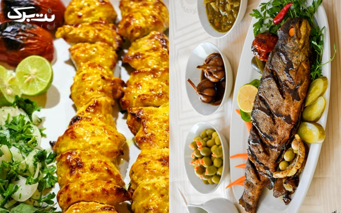 غذاهای ایرانی در رستوران دهار