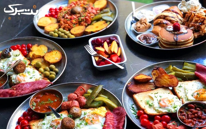 صبحانه در کافه رستوران نسپرسو