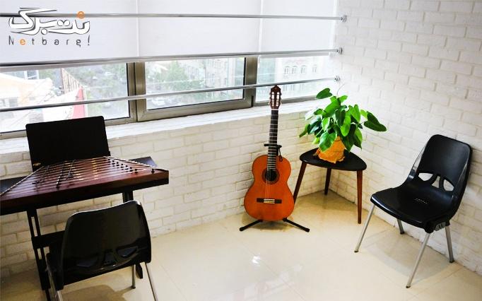 آموزش انواع ساز موسیقی در موسسه ساکت
