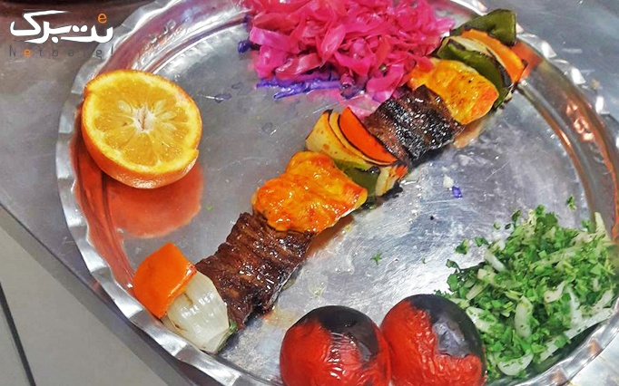 انواع کباب در مجموعه سنتی تنور سنگی