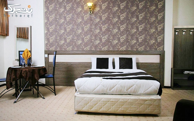 اقامت تک و فولبرد هتل آپارتمان2 ستاره صدف