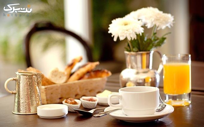 منو صبحانه در کافه کامارو