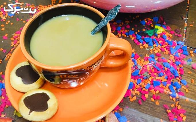 قوری چای دو نفره در کافه شاندیز