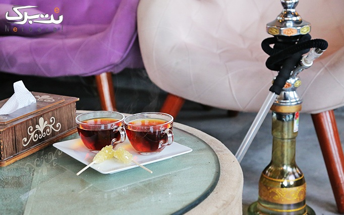 سرویس چای سنتی در کافه چارلی