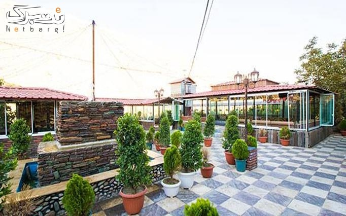 منو غذایی و سرویس سفره خانه در باغ رستوران کندو