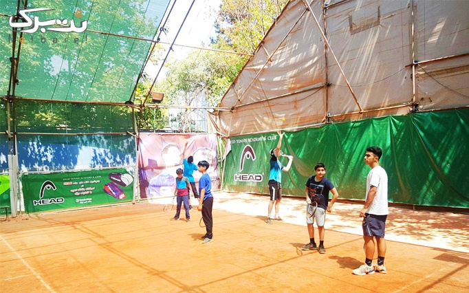 سانس تفریحی و آموزشی تنیس در مجموعه اسپید
