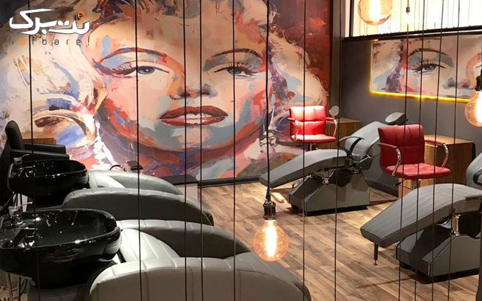 ژلیش ناخن در سالن آرایشی موباما