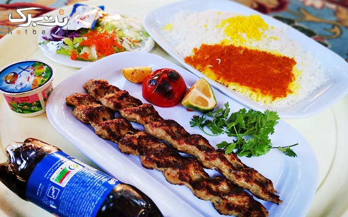 منو غذای ایرانی در رستوران صفدری شاندیز