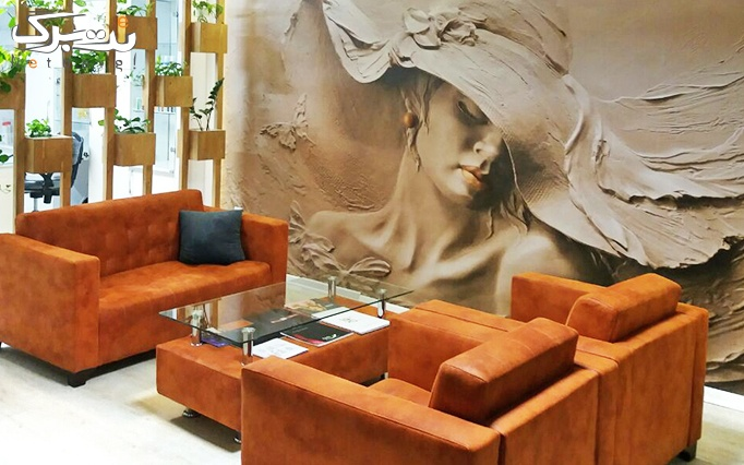 میکاپ یا شینیون در سالن زیبایی هاله