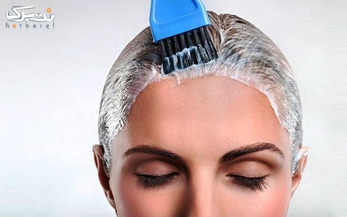 رنگ موهای ژورنالی در آرایشگاه نیلی گل