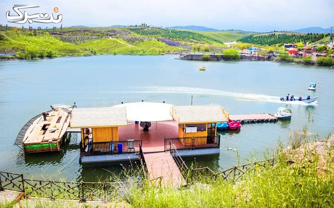 قایق سواری با لنج در کلوپ تفریحات چالیدره