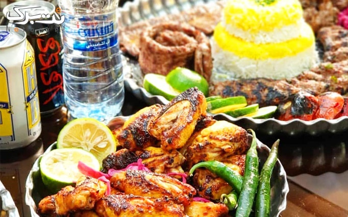 منوی غذای ایرانی در هتل 4 ستاره گلستان (ویژه نهار)