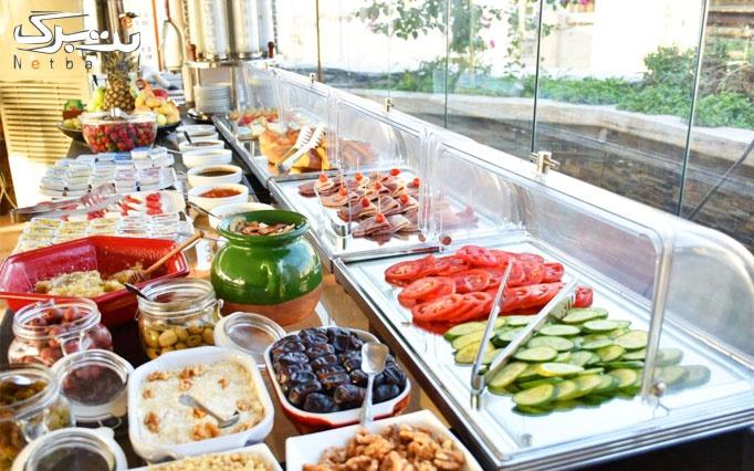 بوفه صبحانه در هتل بوتیک طوبی