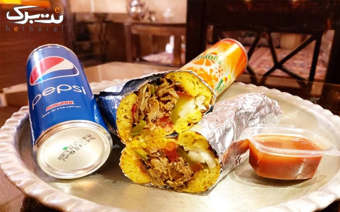 فست فود طهران قدیم با ساندویچ کباب ترکی مخلوط ویژه