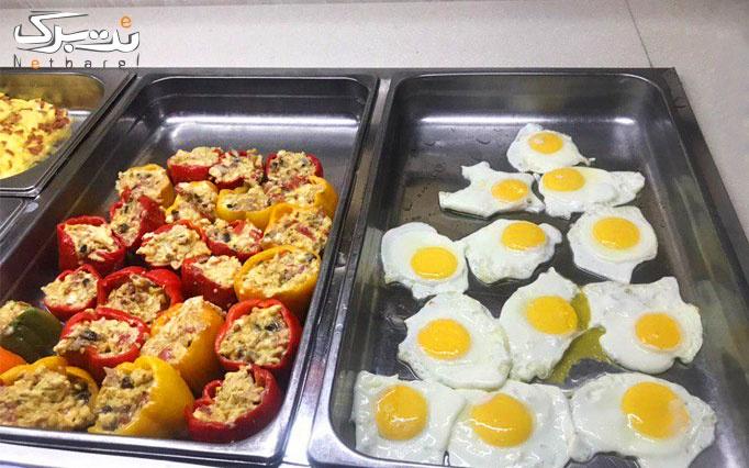 بوفه صبحانه در هتل آساره