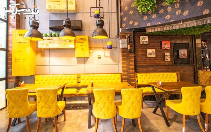 کافه رستوران اوپال با منو متنوع