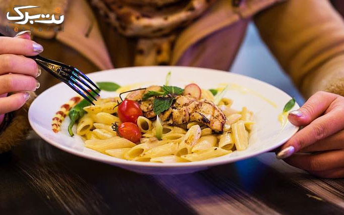 منوی غذاهای ایتالیایی در رستوران دلیک