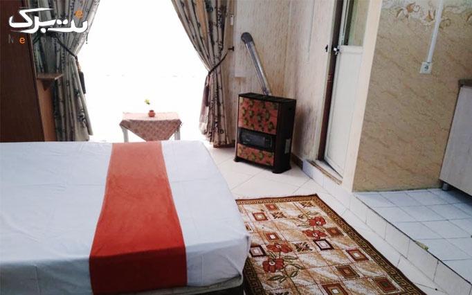 اقامت تک در هتل جدیدی مشهد