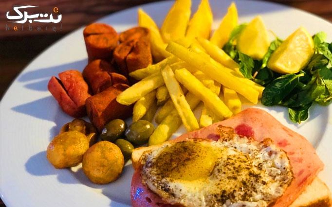 منوی صبحانه و میان وعده در کافه رزتا