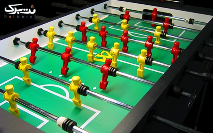 بازی فوتبال دستی در گیم نت قلعه