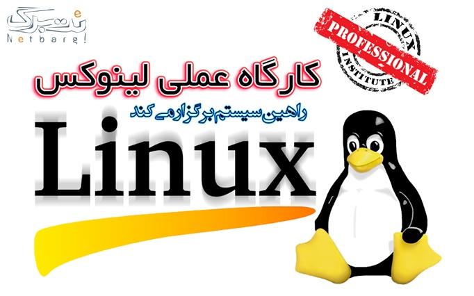کارگاه عملی لینوکس در راهین سیستم