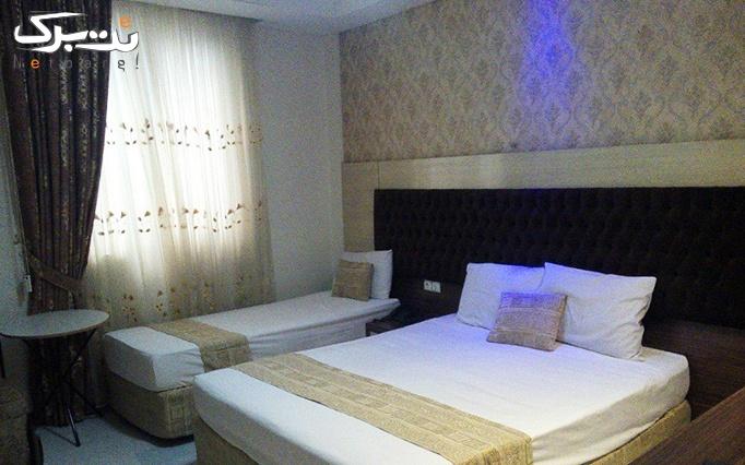 پکیج دو : اقامت فولبرد در هتل تیانا ( ویژه نوروز )