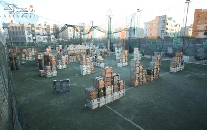 بازی پینت بال در باشگاه اسنایپر