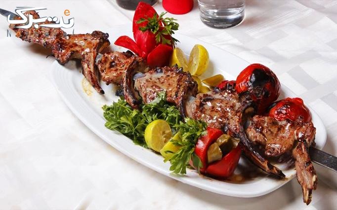 رستوران غذای ایرانی ننجون با منوی باز