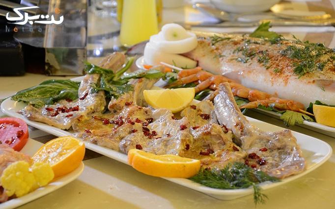 رستوران منقل باشی پدیده شاندیز با غذای ایرانی