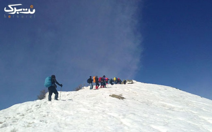 برف بازی در منطقه حفاظت شده ورجین