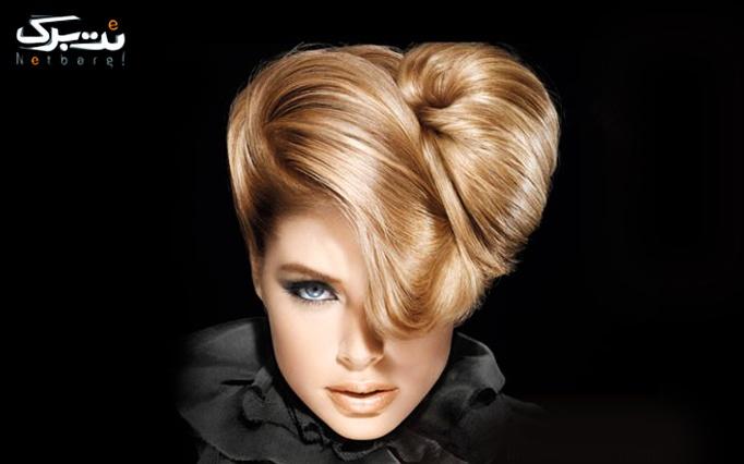 اصلاح ابرو و بافت و کوتاهی مو در آرایشگاه آنوشا