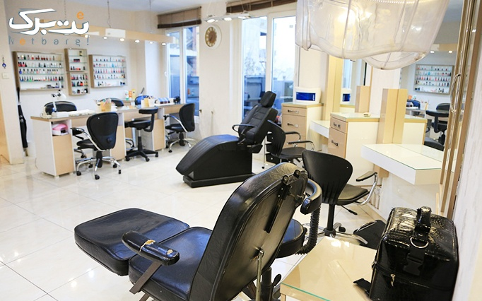 لاک و فرنچ و طراحی ناخن در آرایشگاه نور ناهید