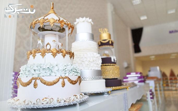 انواع شیرینی و کیک در قنادی میلاوه