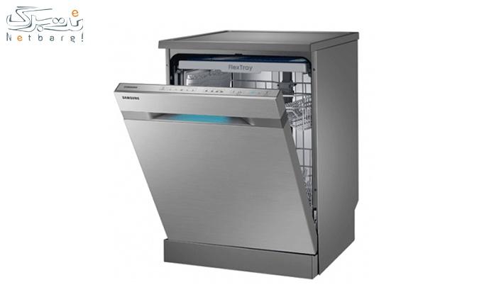 ماشین ظرفشویی سامسونگ مدل D142 | نقرهای اورجینال از نمایندگی سامسونگ