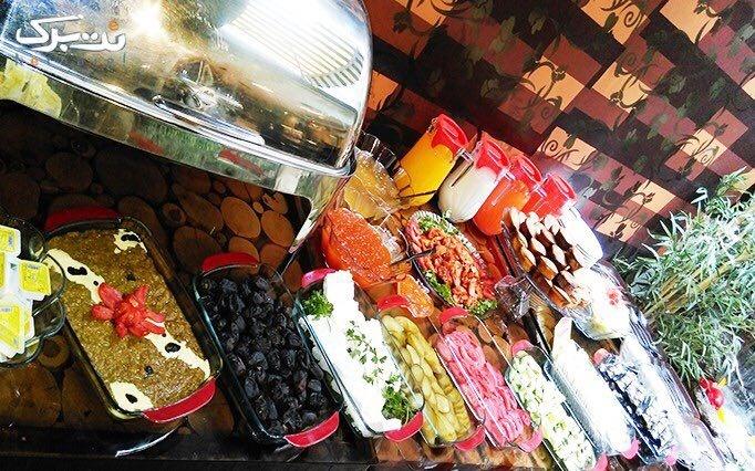رستوران شمس العماره با منوی غذایی و چای سنتی