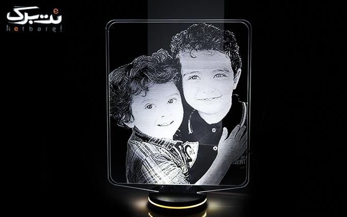 شب خواب سه بعدی LED طرح چهره از 3digi(کالا تبادل پردیس)