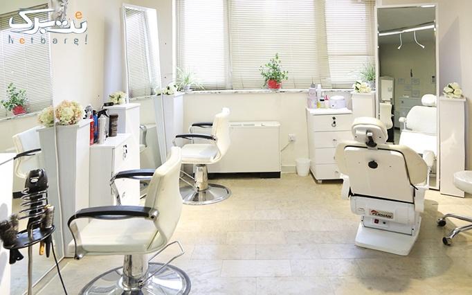 بافت شاخه ای مو در آرایشگاه سوسن