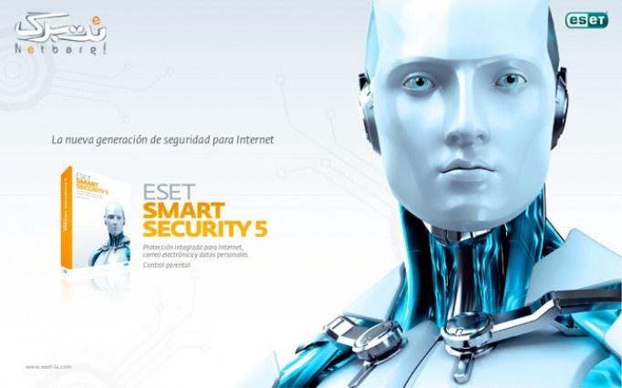 مولتی دیوایس 4 کاربره(2PC + 2Android)  ESET Smart Security  - ESET Mobile Antivirus از طوبی تک