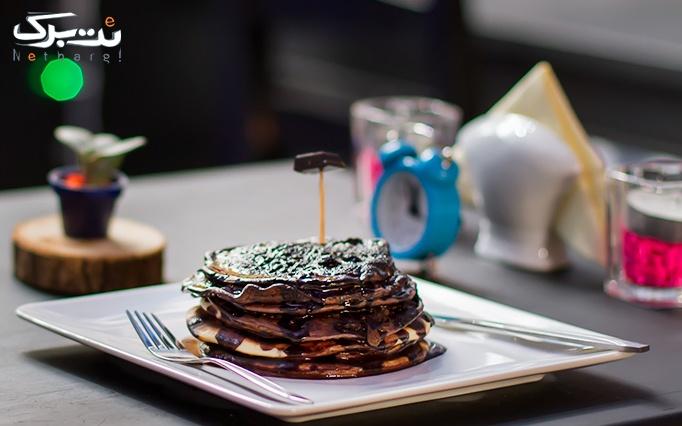 منوی باز صبحانه متنوع در کافه بیستوچند