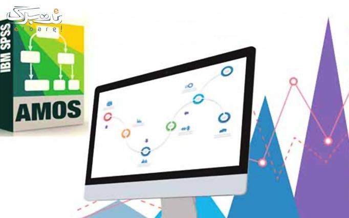 آموزش نرم افزارهای Amos و Lisrel