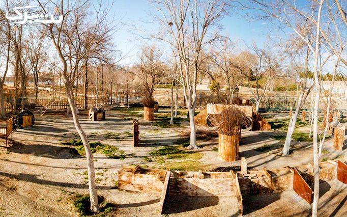 ورودی پینت بال باغ جنگلی جوان